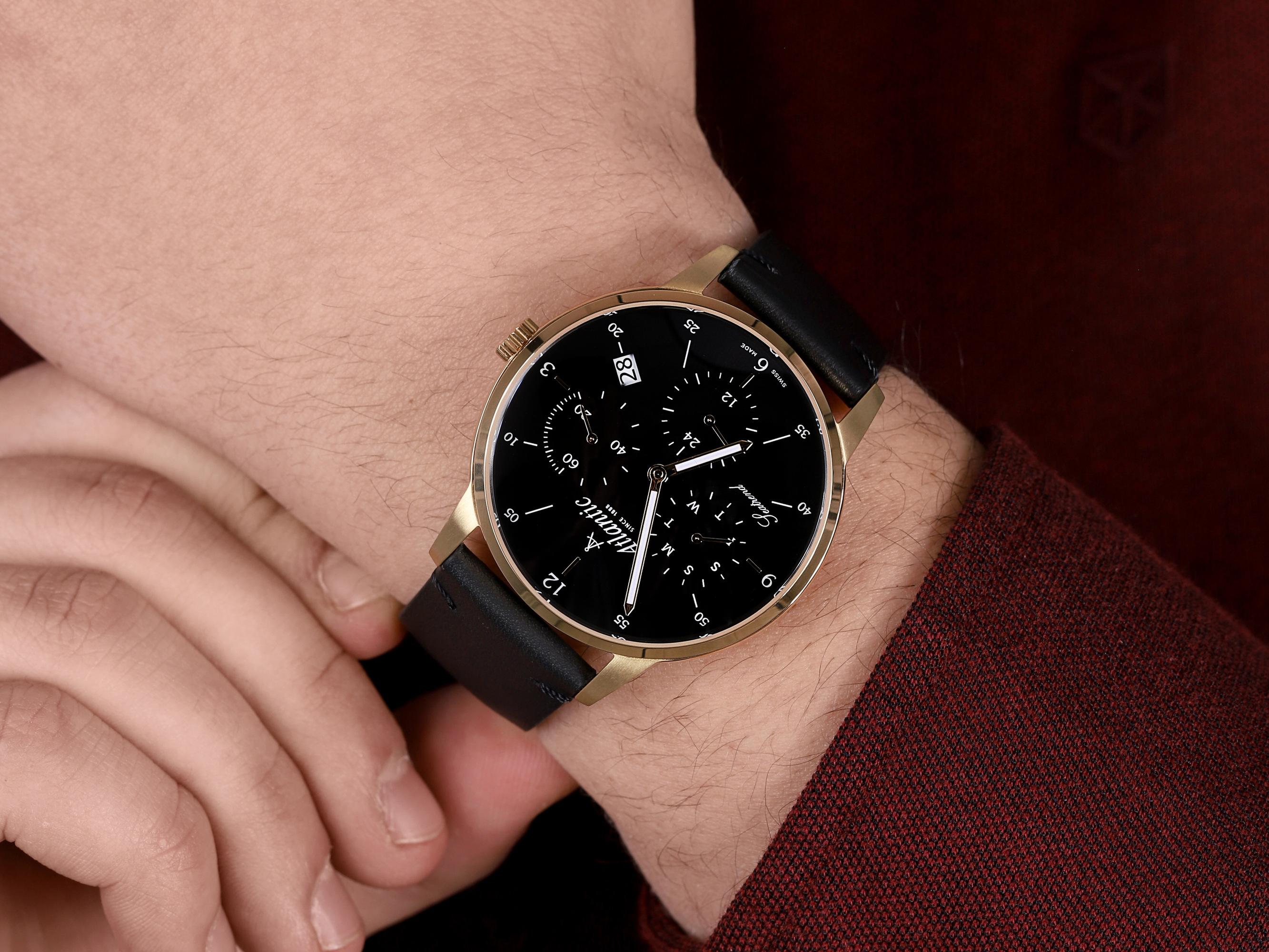 Atlantic 65550.45.65 męski zegarek Seatrend pasek