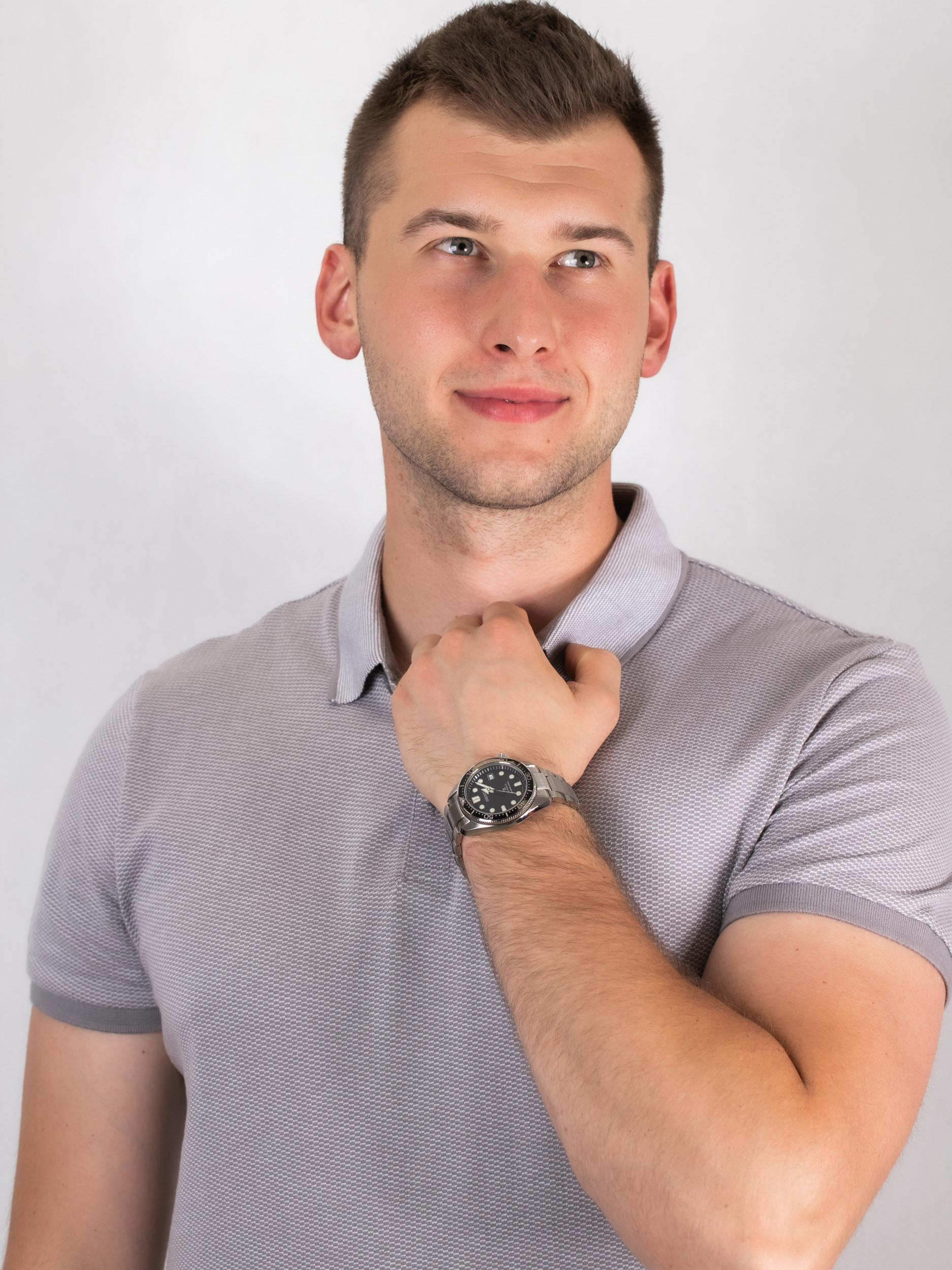 Seiko SPB077J1 zegarek męski Prospex