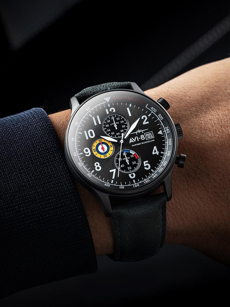 AV-4011-0D zegarek męski Hawker Hurricane