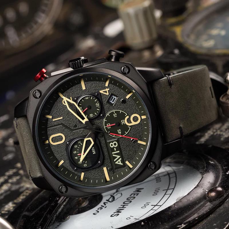 AV-4052-08 zegarek sportowy Hawker Hunter