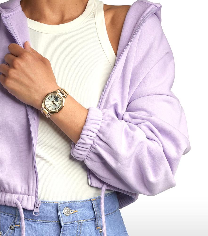 Baby-G MSG-B100DG-9AER damski zegarek Baby-G pasek