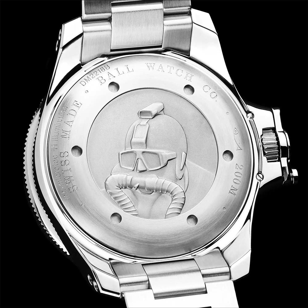 Ball DM2218B-S2CJ-GR męski zegarek Engineer Hydrocarbon bransoleta