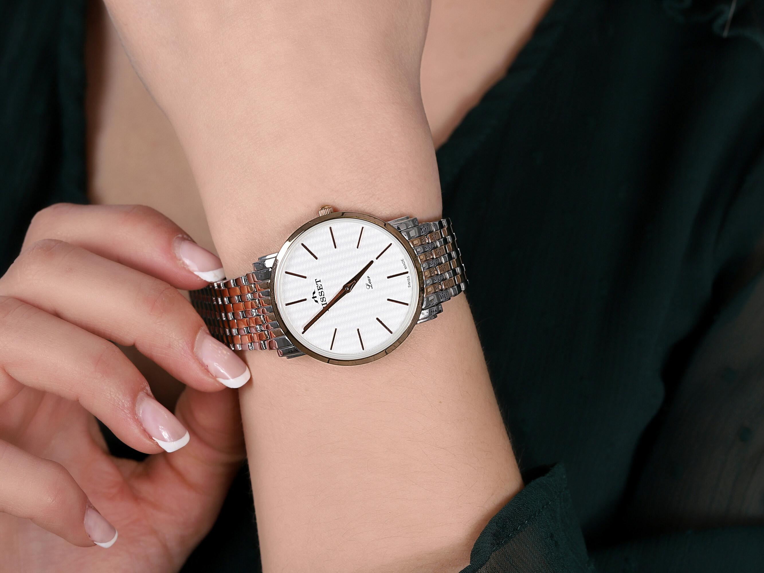 Bisset BSBE54TISX03BX zegarek elegancki Klasyczne