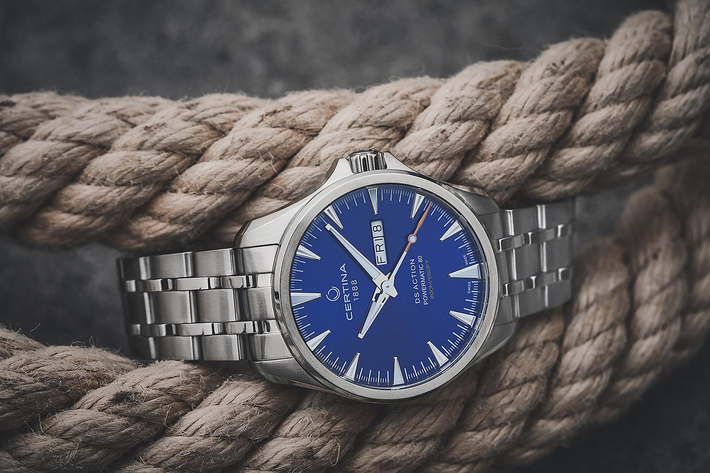 Certina C032.430.11.041.00 męski zegarek DS Action bransoleta