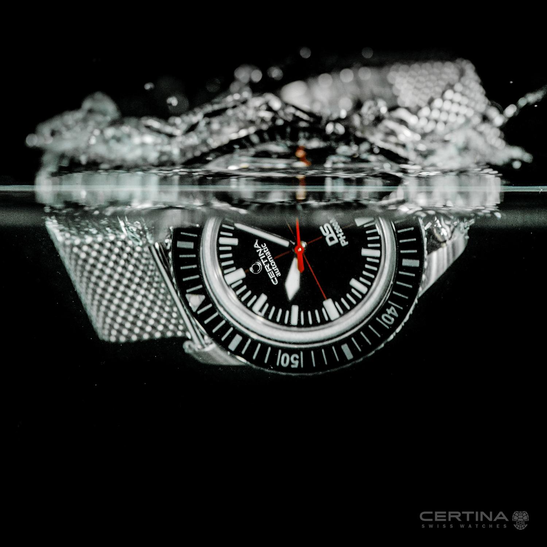 Certina C036.407.11.050.00 DS PH200M POWERMATIC 80 DS PH200M klasyczny zegarek srebrny