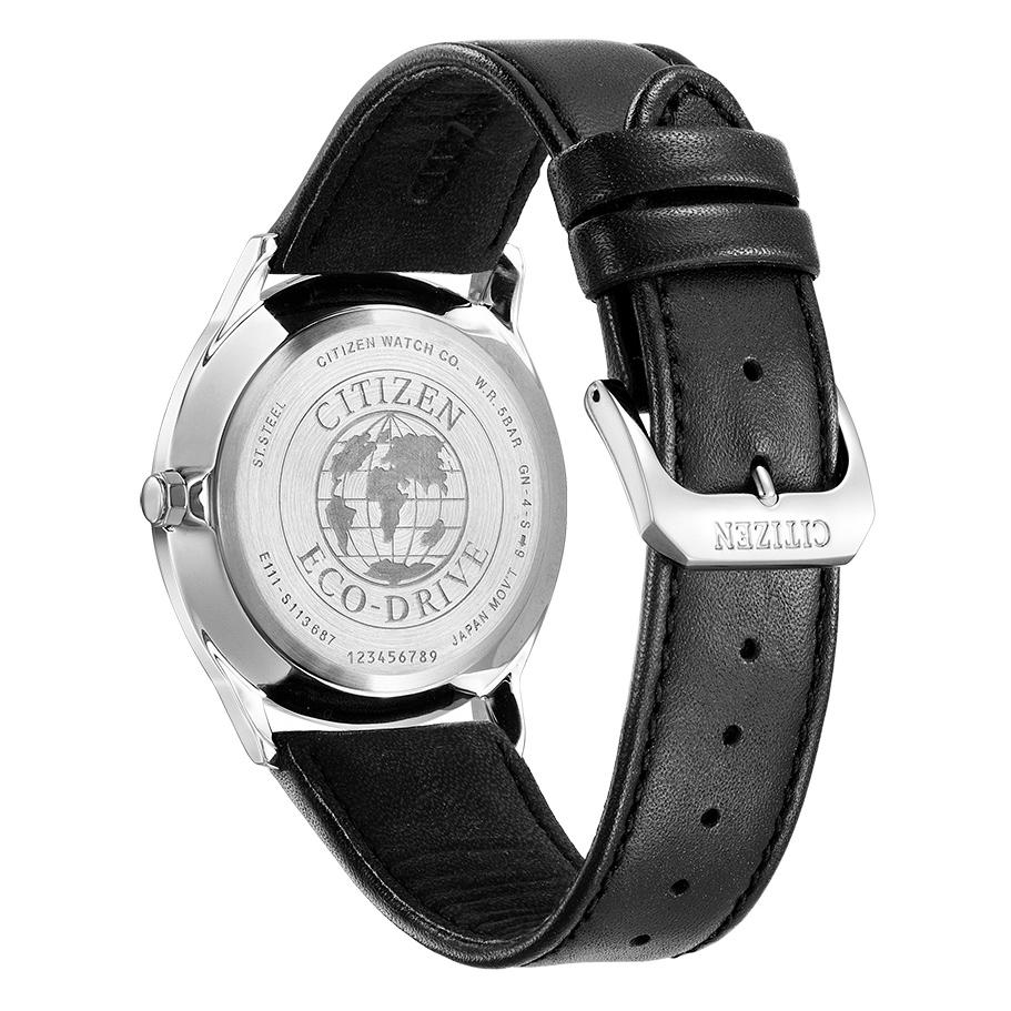 Citizen BM7400-21A męski zegarek Ecodrive pasek