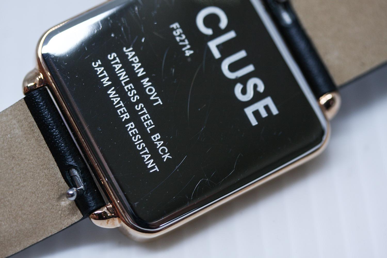 Cluse CL60008-POWYSTAWOWY damski zegarek La Tetragone pasek