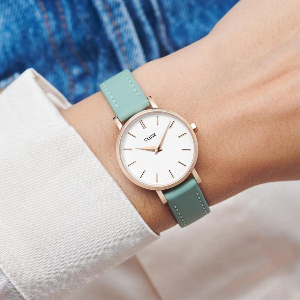 Cluse CW0101211006 zegarek damski La Boheme Mesh