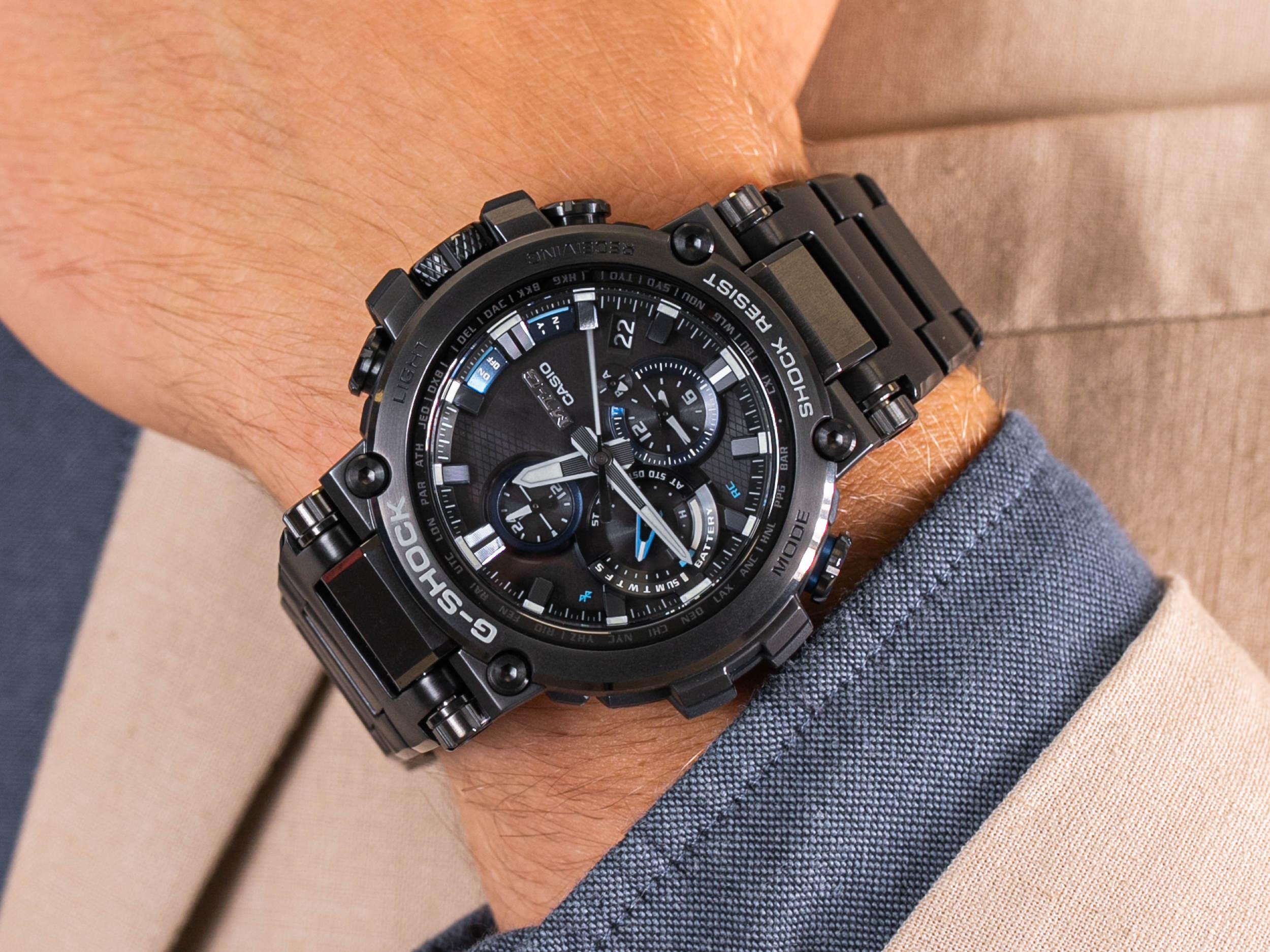 G-Shock MTG-B1000BD-1AER smartwatch sportowy G-SHOCK Exclusive