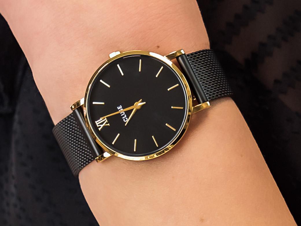 zegarek Cluse CW0101203009 złoty Minuit