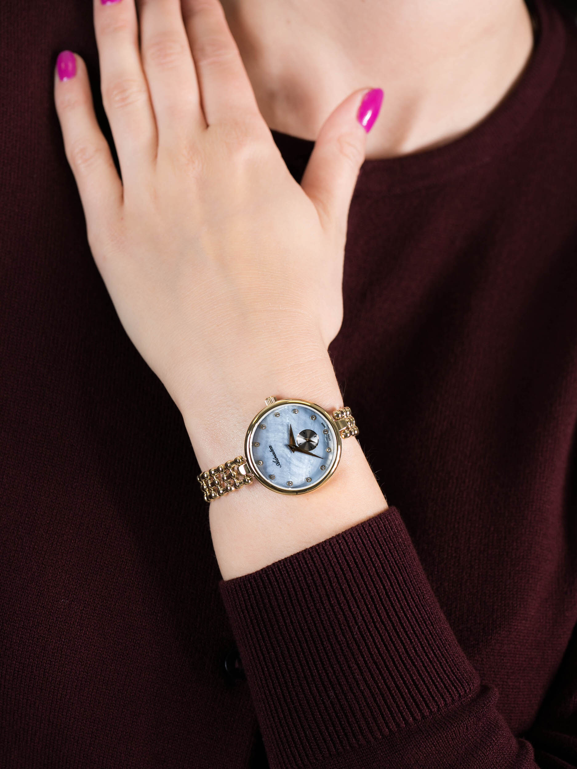 Adriatica A3727.114ZQ damski zegarek Bransoleta bransoleta