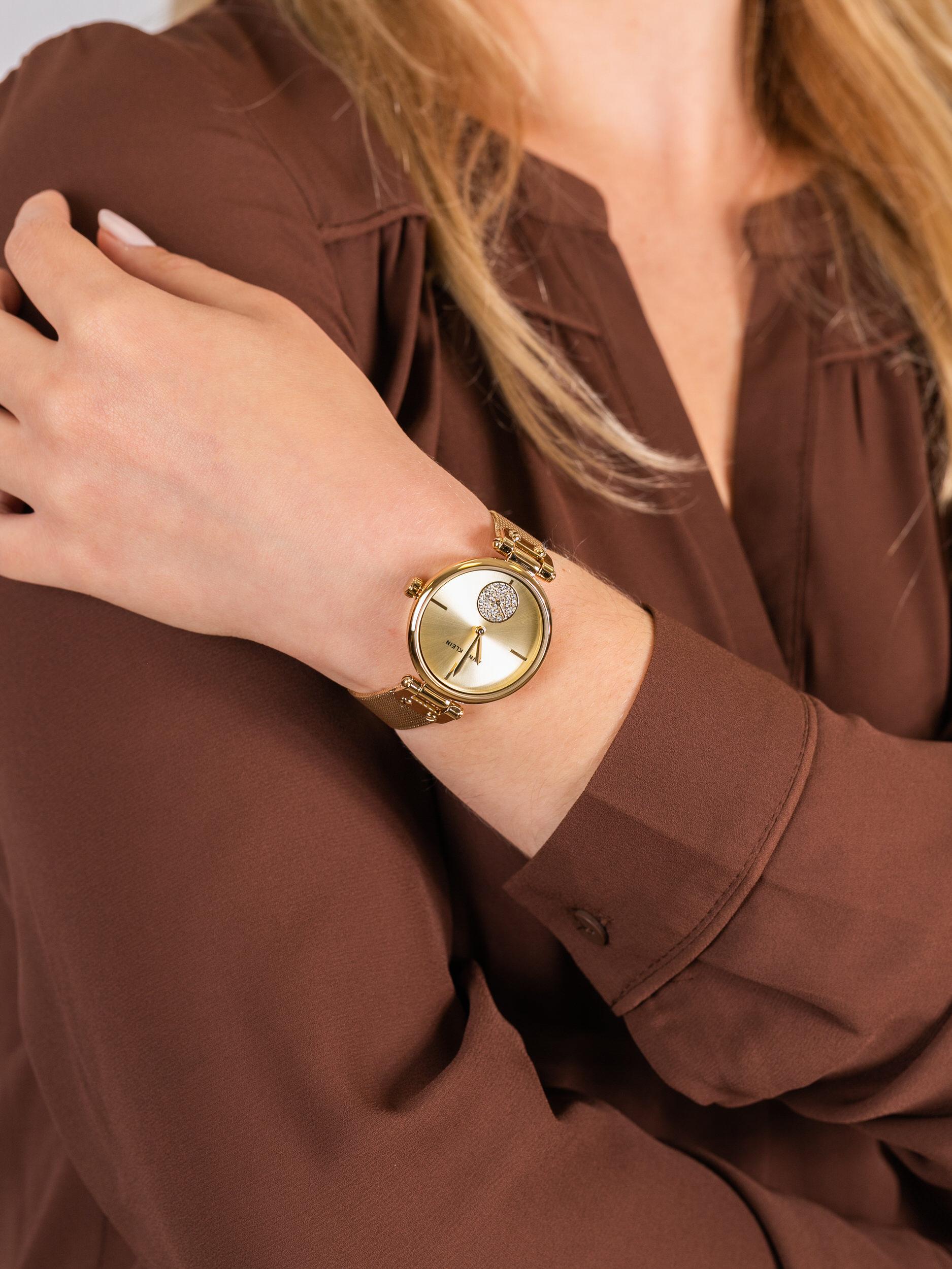 Anne Klein AK-3000CHGB damski zegarek Bransoleta bransoleta