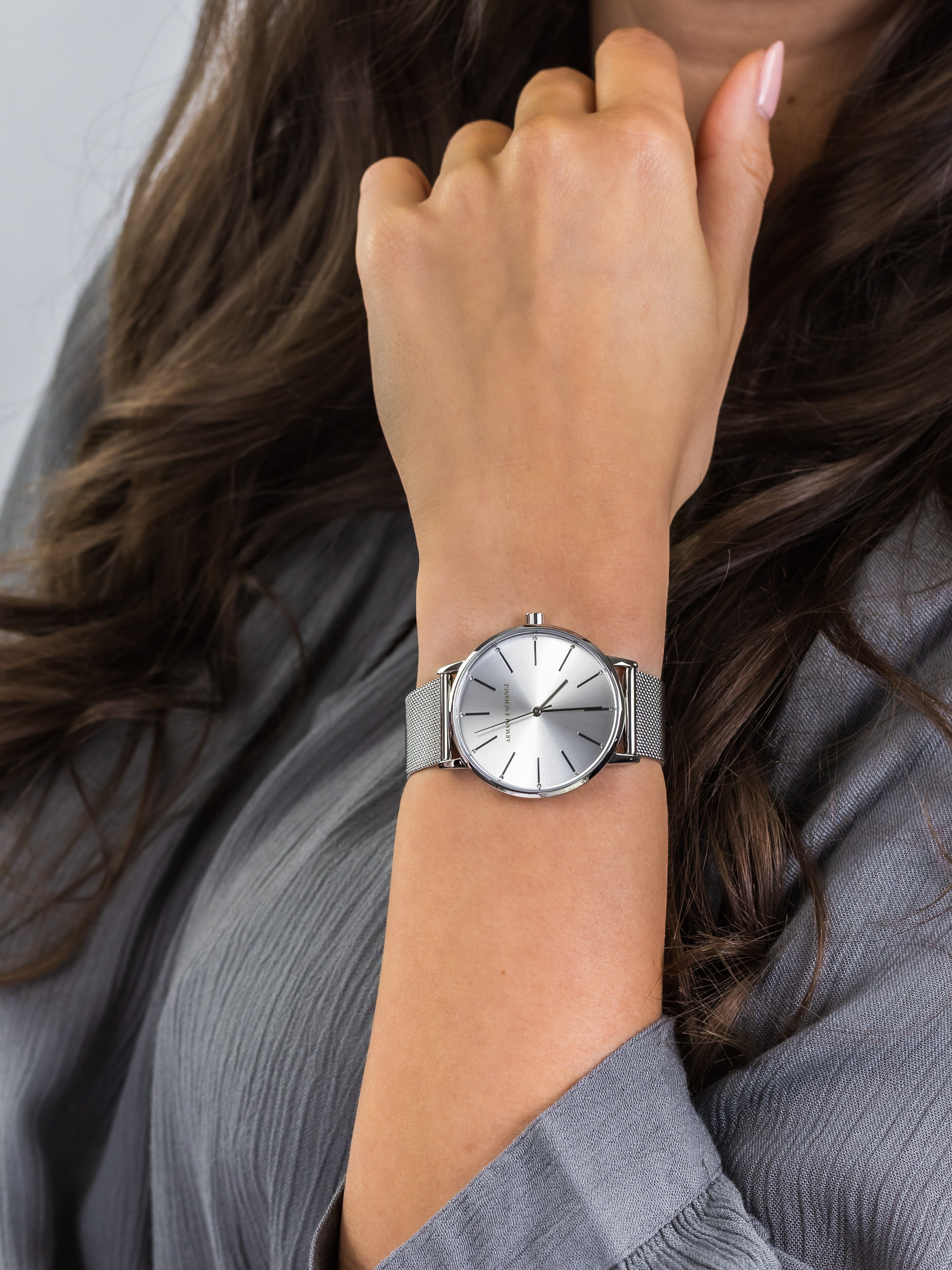 Armani Exchange AX5535 damski zegarek Fashion bransoleta