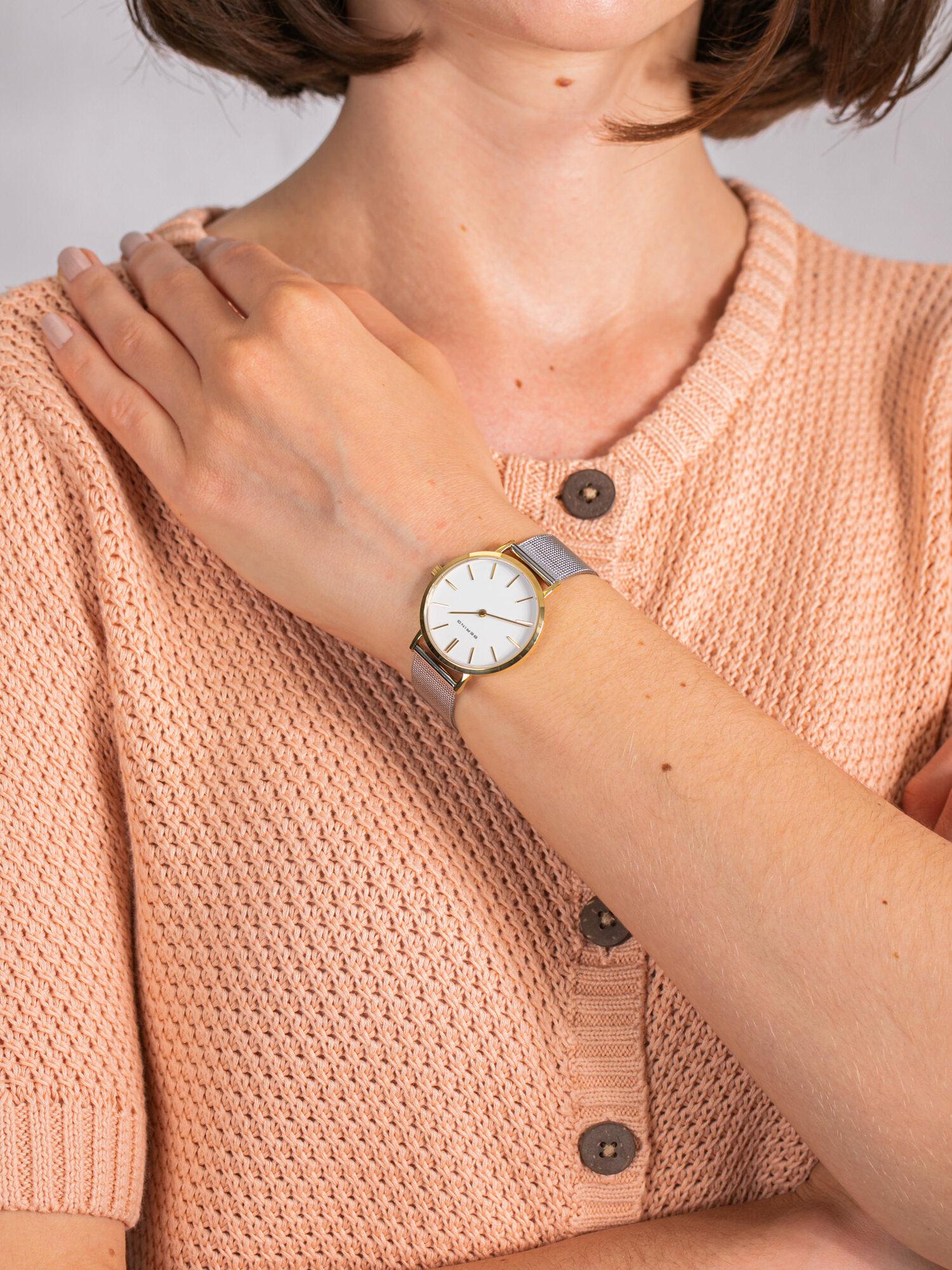 Bering 14134-014 damski zegarek Classic bransoleta