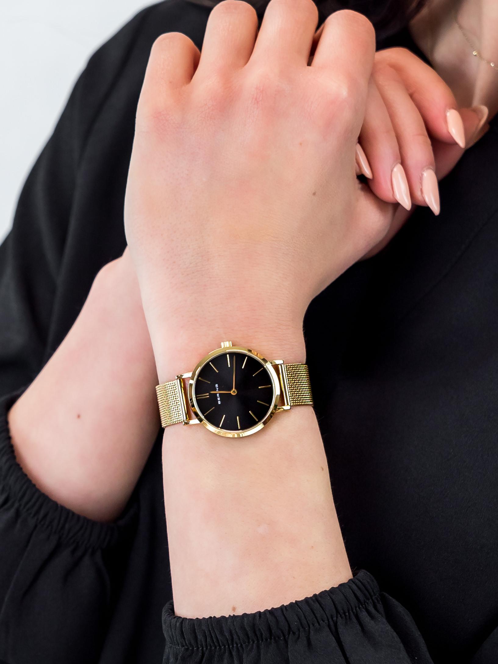 Bering 14134-332 damski zegarek Classic bransoleta