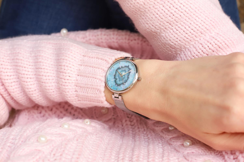 Pierre Ricaud P22109.5145Q zegarek srebrny klasyczny Bransoleta bransoleta