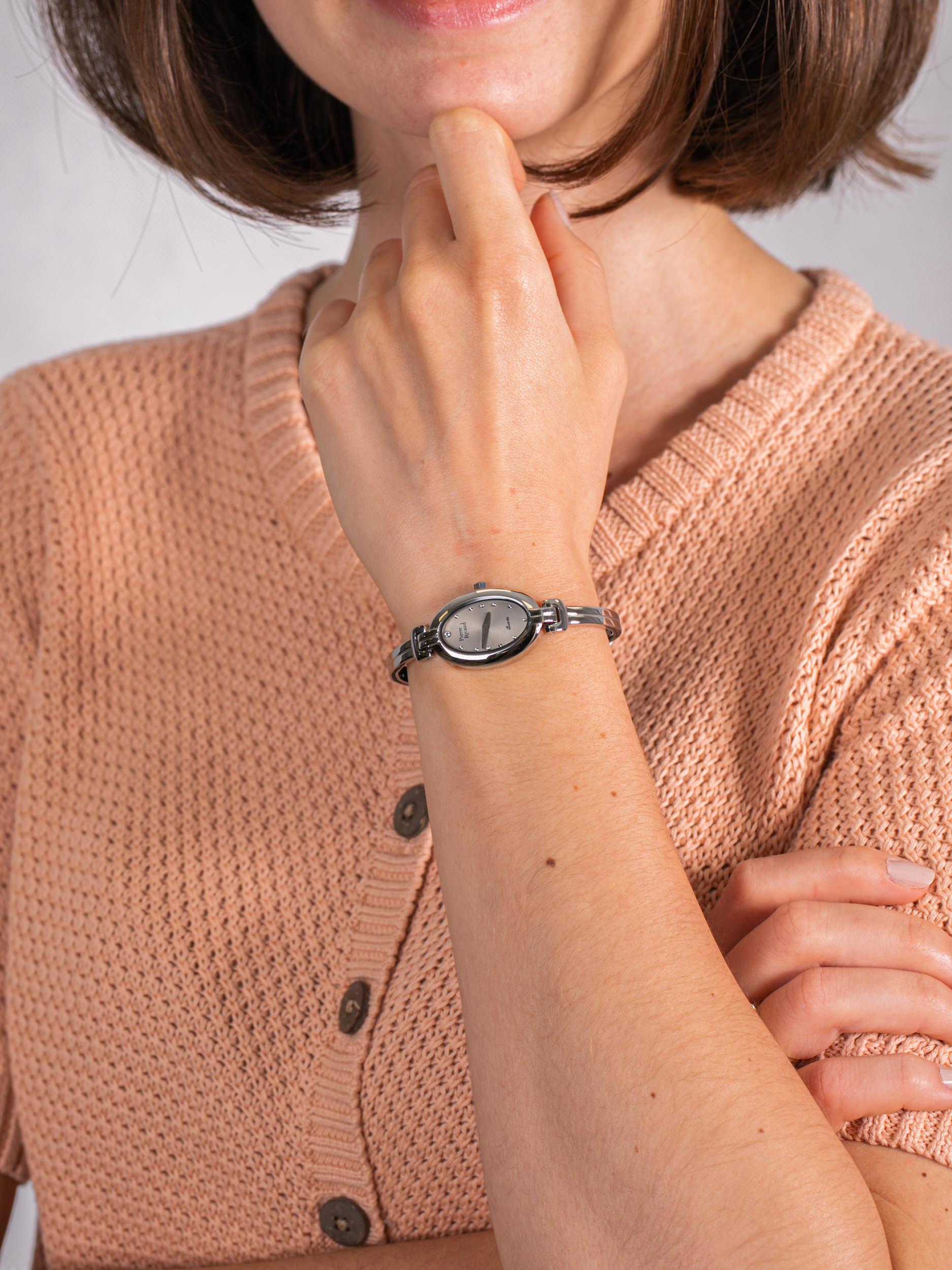 Pierre Ricaud P4096.5147Q damski zegarek Bransoleta bransoleta