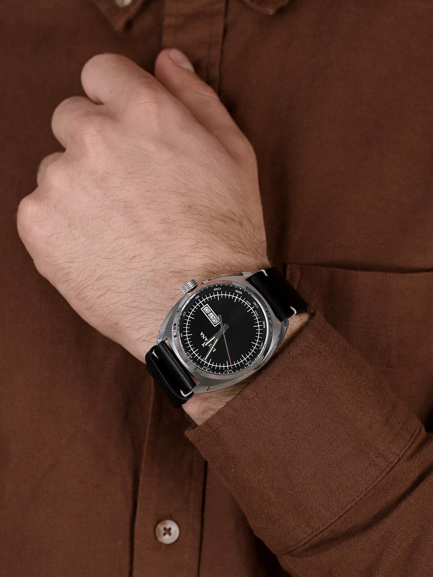 Delbana 41601.714.6.032 męski zegarek Locarno pasek