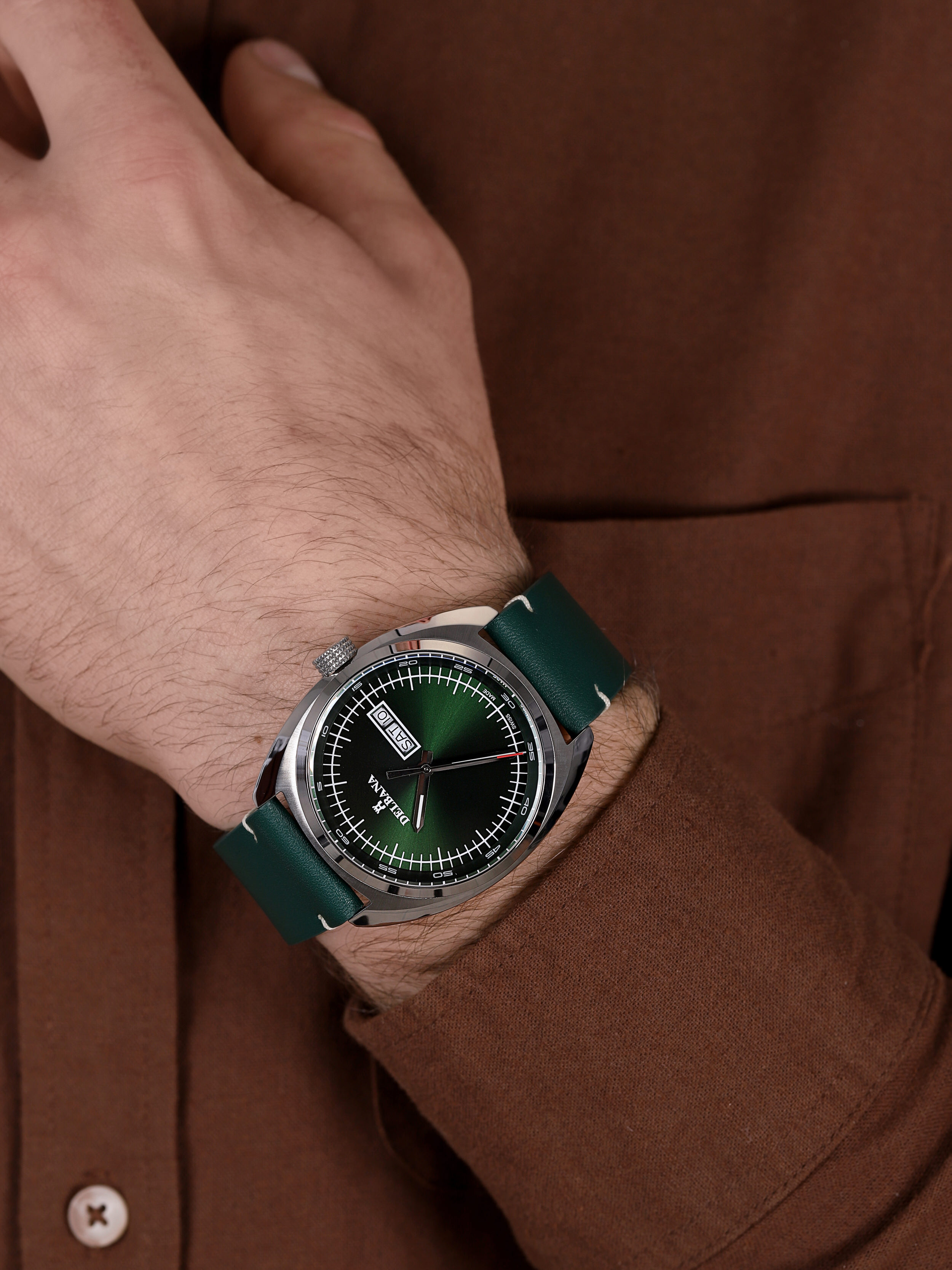 Delbana 41601.714.6.142 zegarek klasyczny Locarno