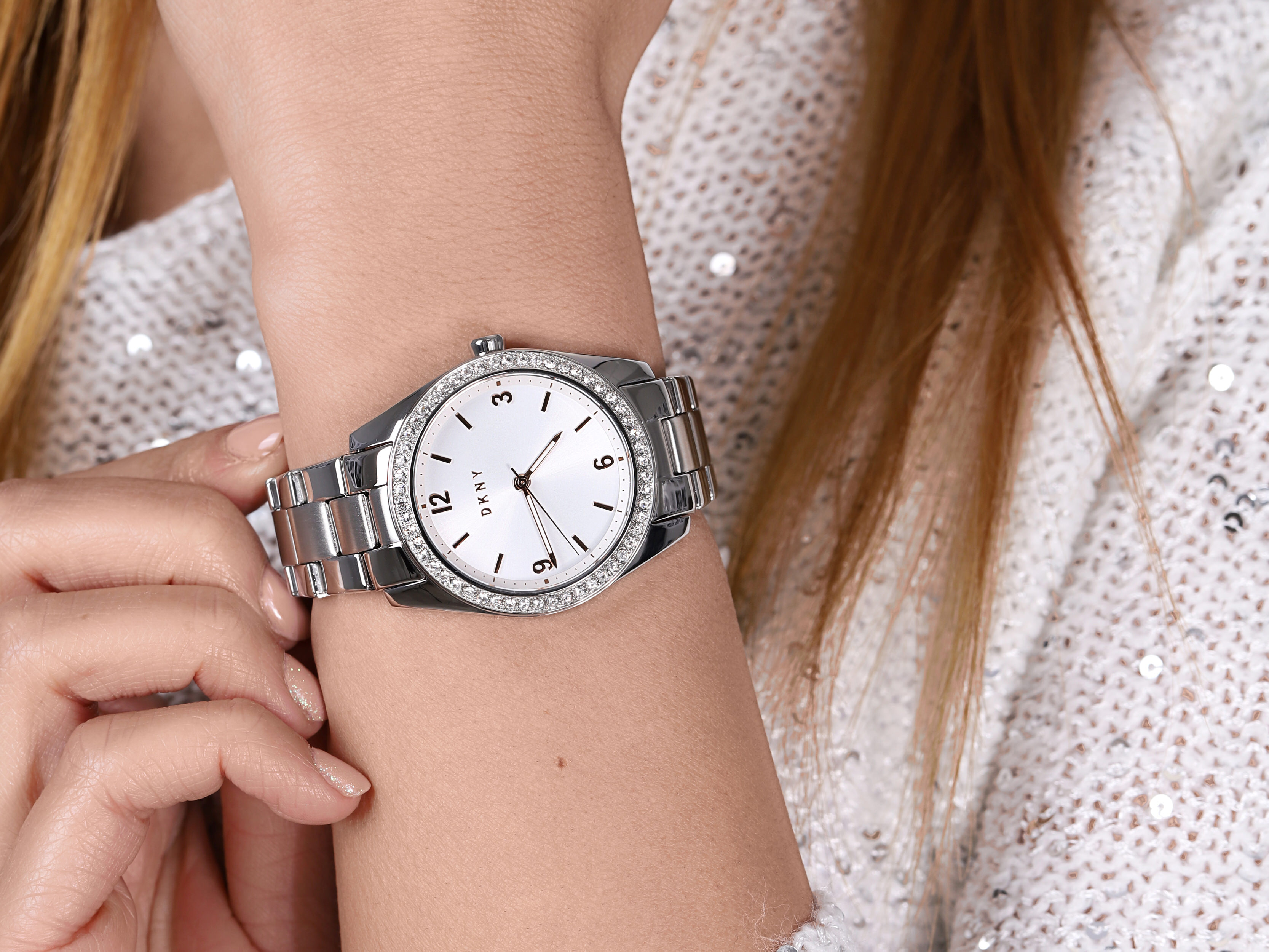 DKNY NY2901 zegarek klasyczny Bransoleta