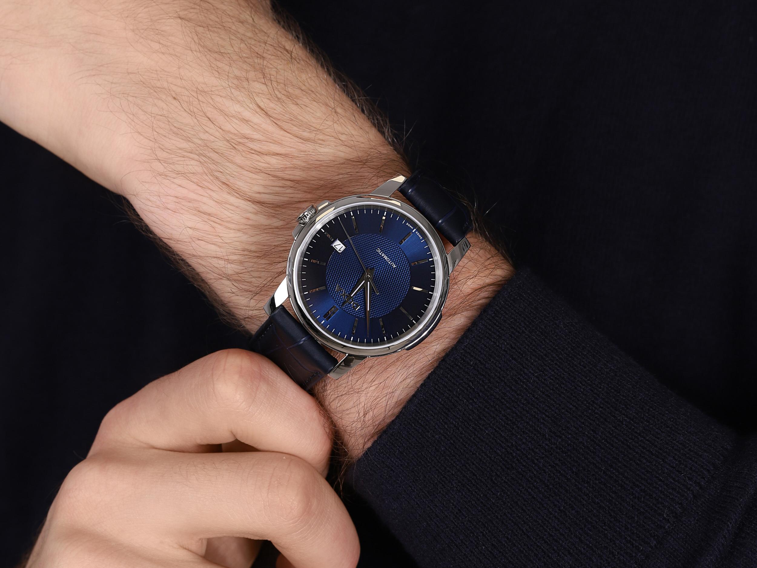 Doxa 205.10.201.03 męski zegarek Ethno pasek