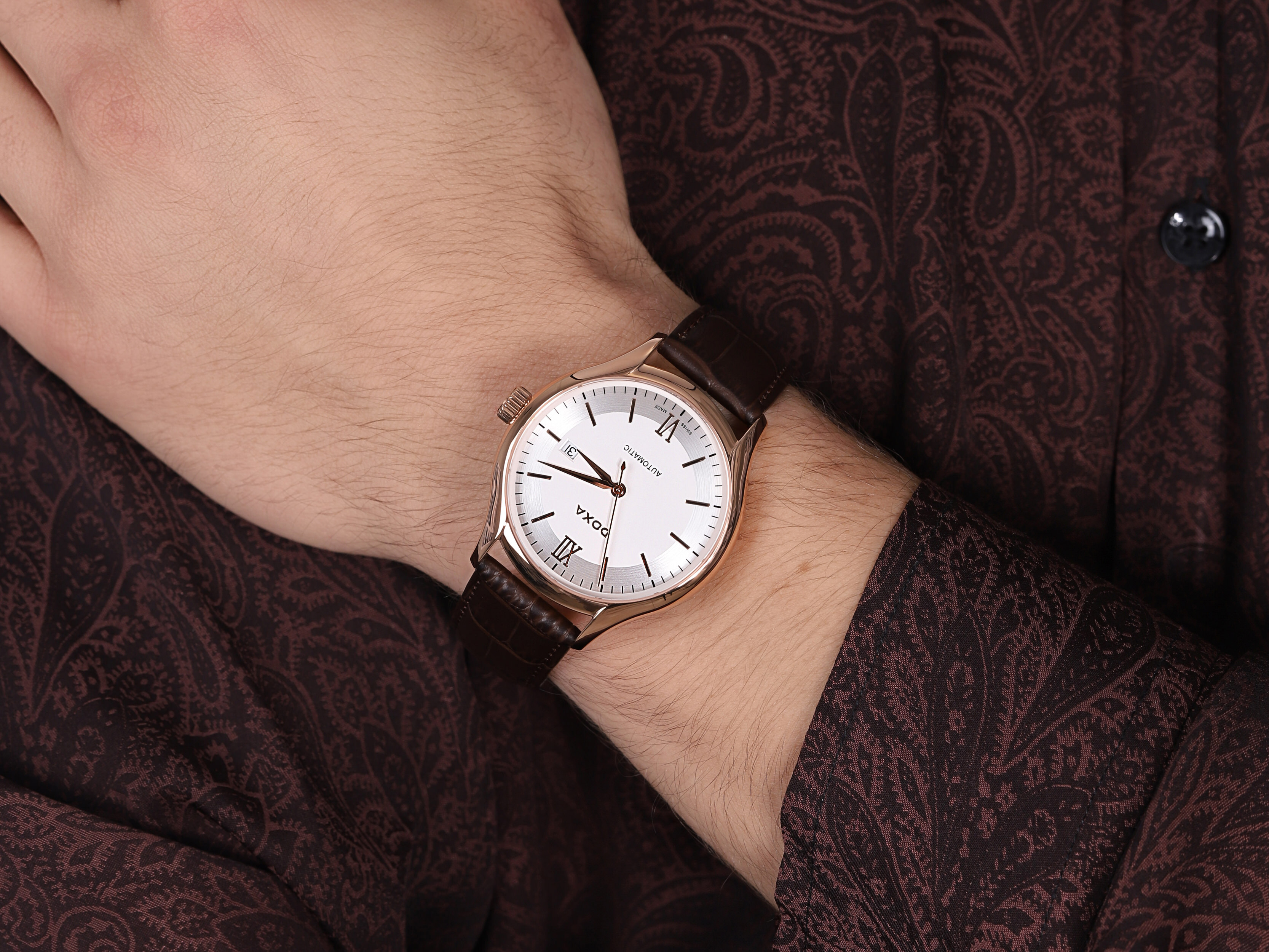 Doxa 216.90.012.02 zegarek męski Challenge
