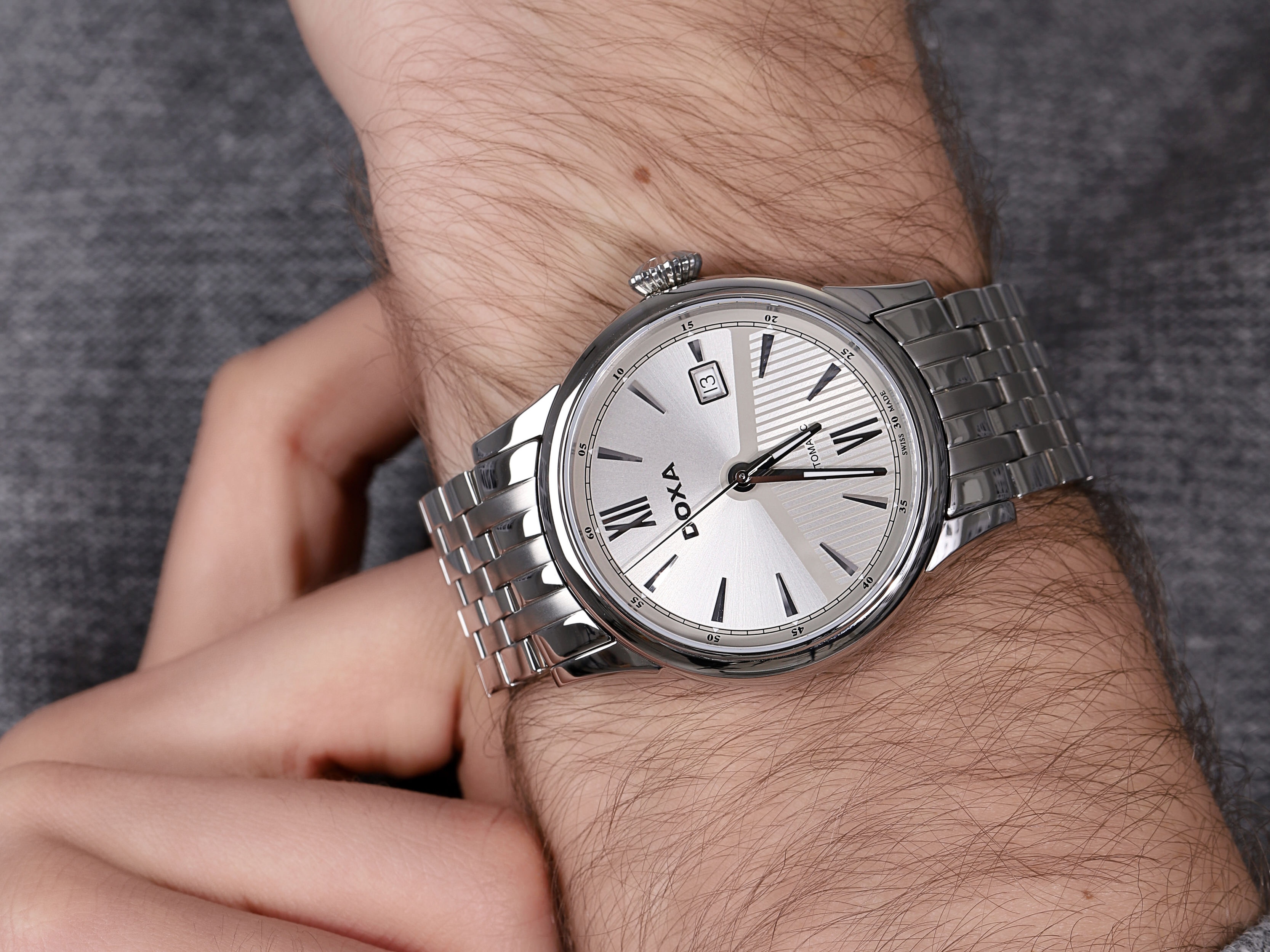 Doxa 624.10.022.10 zegarek męski Vintage