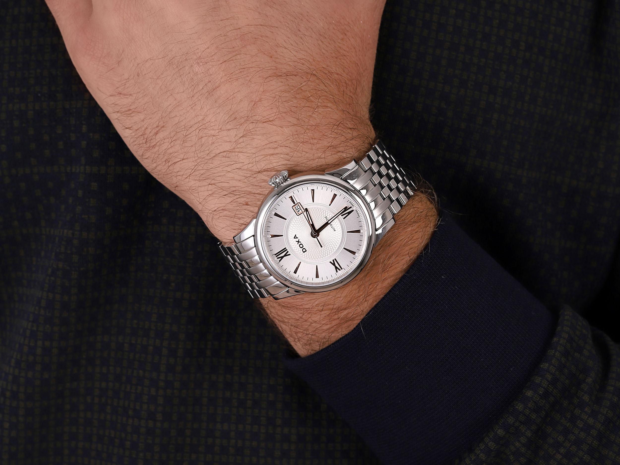 Doxa 624.10.022R210 zegarek męski Vintage