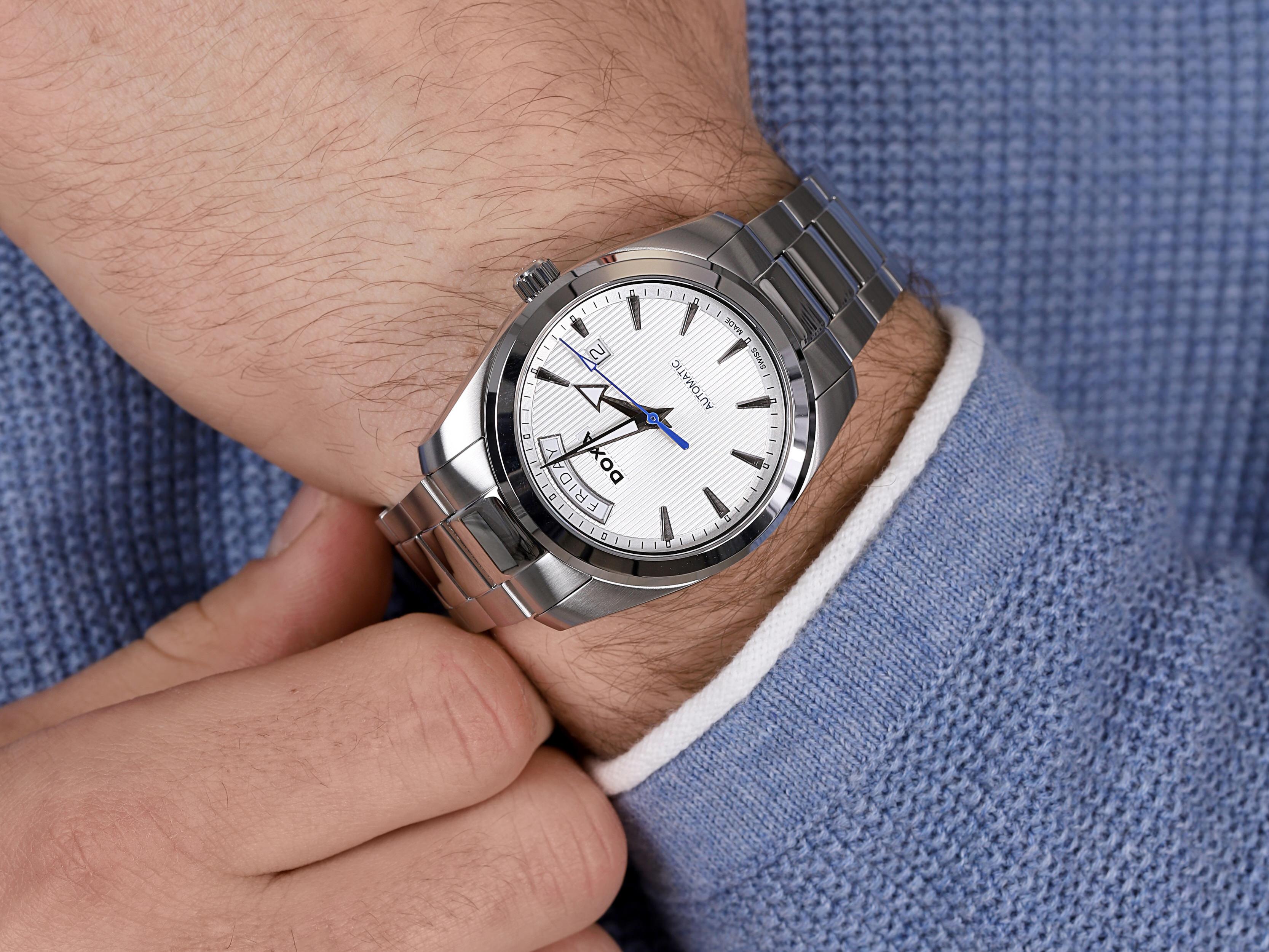 Doxa D205SWH zegarek męski Noble