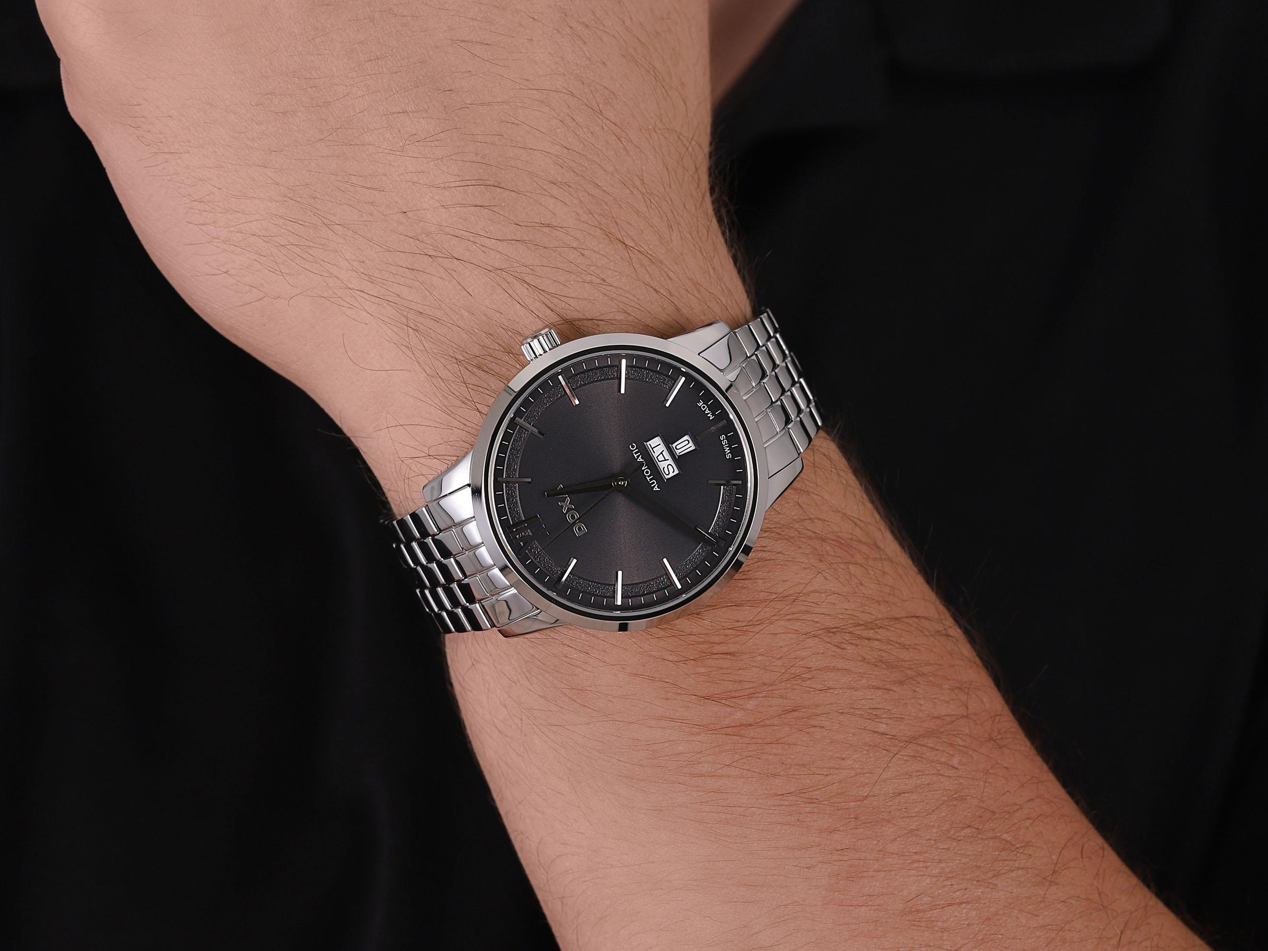 Doxa D206SGY męski zegarek Executive bransoleta