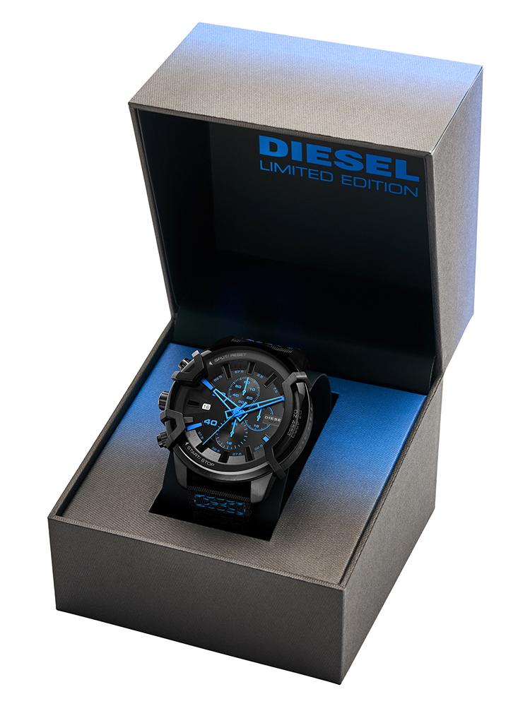 DZ4553 zegarek czarny klasyczny Griffed pasek