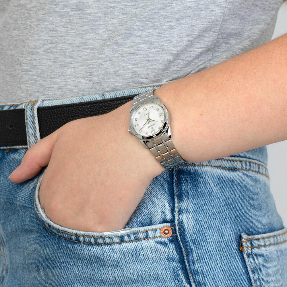F16940-A damski zegarek Boyfriend bransoleta