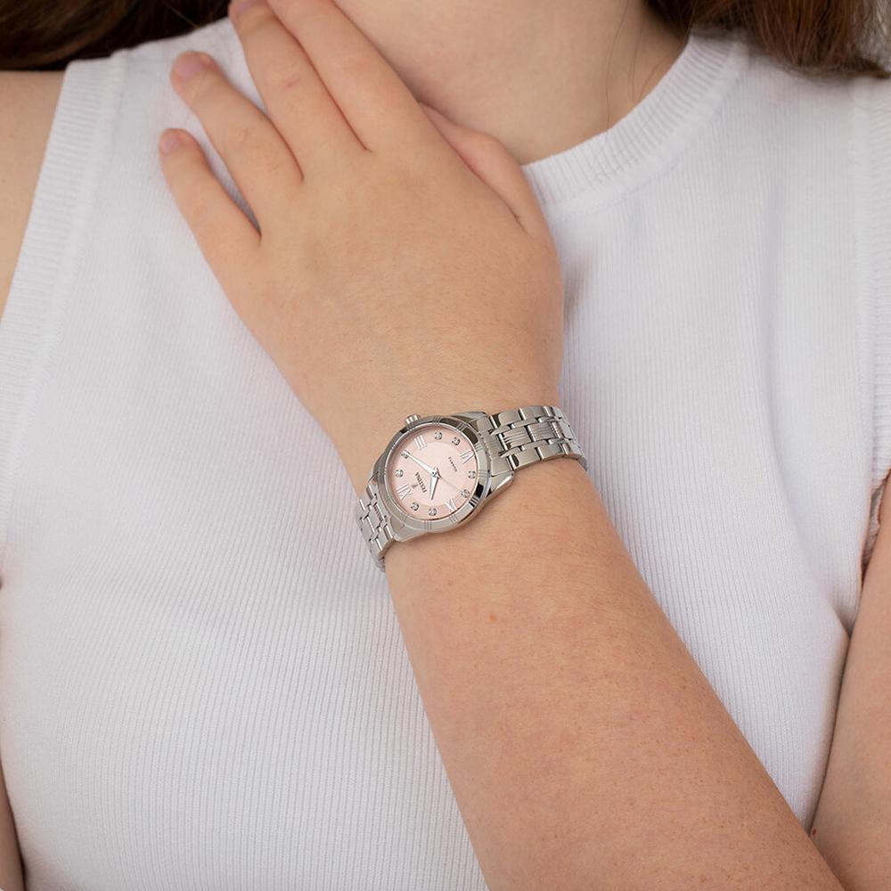 F16940-C damski zegarek Boyfriend bransoleta