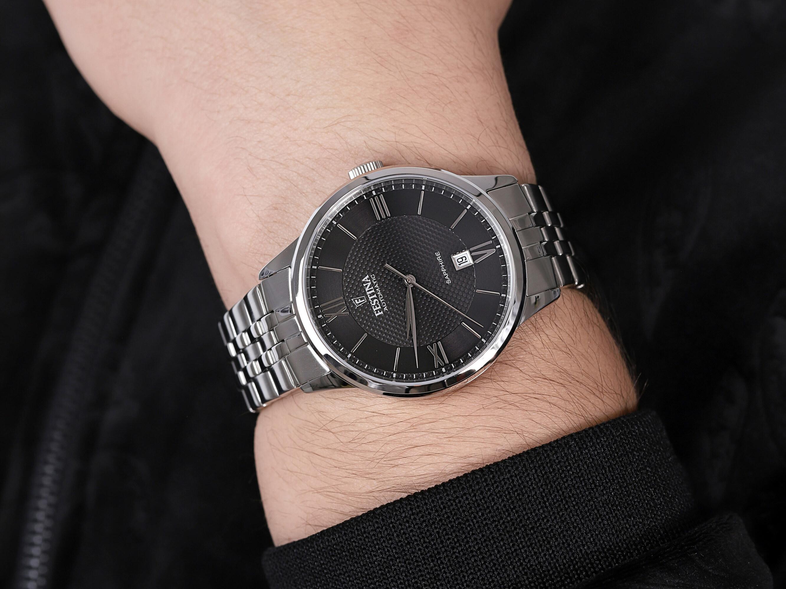 Festina F20482-3 Sapphire Automatic zegarek klasyczny Classic