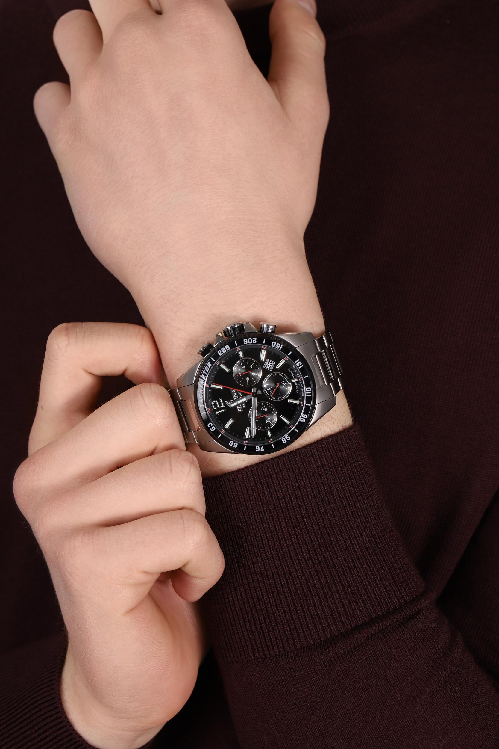 Festina F20520-4 Titanium Sport Chrono Sapphire zegarek sportowy Titanium