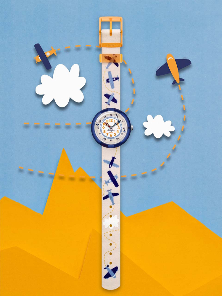 Flik Flak FBNP122 zegarek klasyczny Story Time
