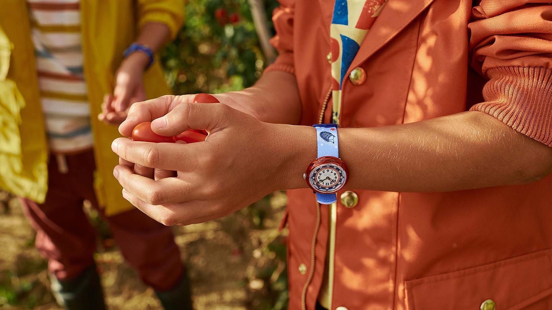 Flik Flak FBNP148 dla dzieci zegarek Story Time pasek
