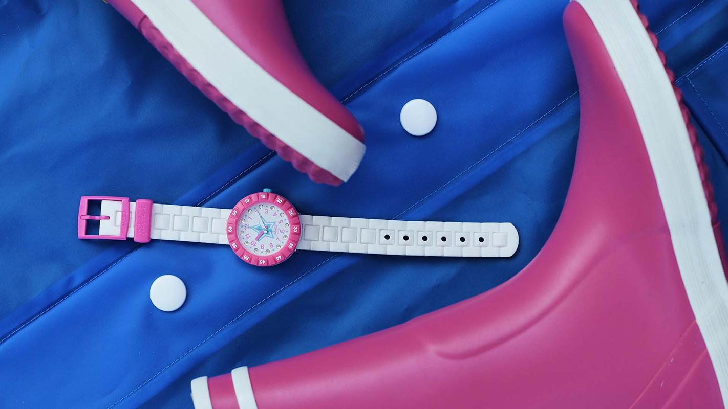 Flik Flak FCSP076 dla dzieci zegarek Power Time pasek