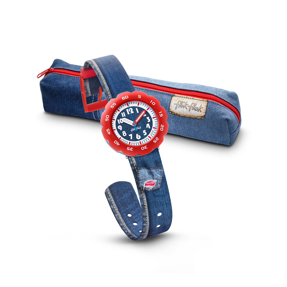 Flik Flak FPSP006 dla dzieci zegarek Power Time pasek