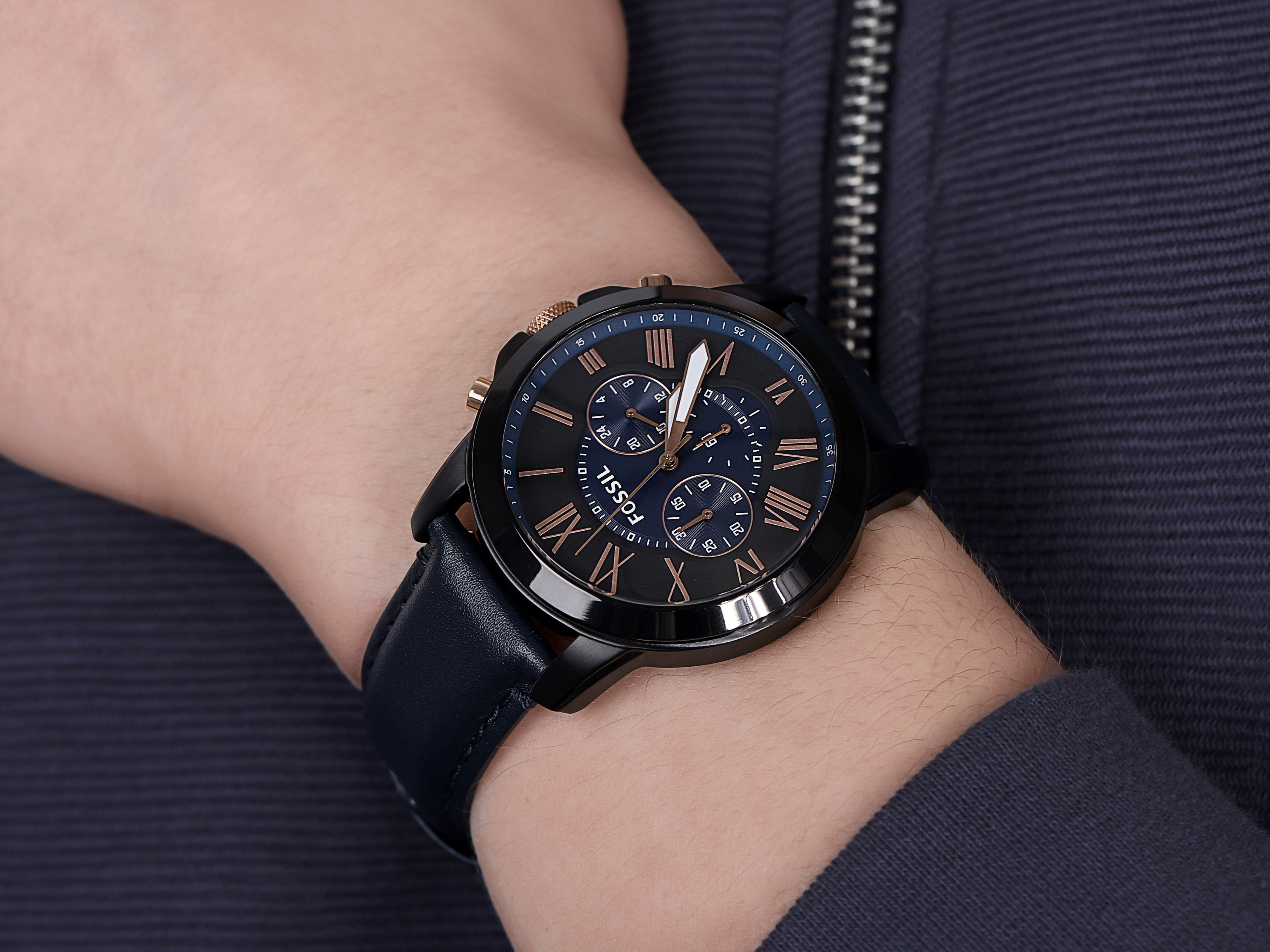 Fossil FS5061IE GRANT zegarek fashion/modowy Grant