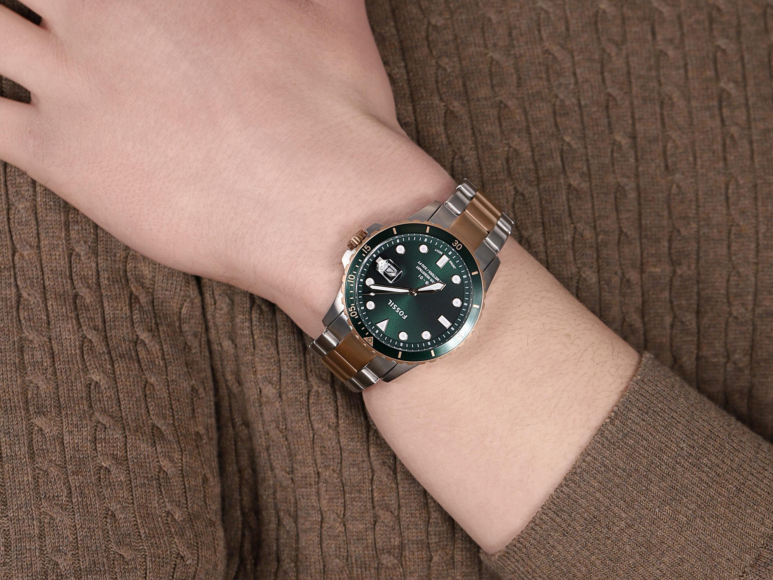 Fossil FS5743 męski zegarek FB-01 bransoleta