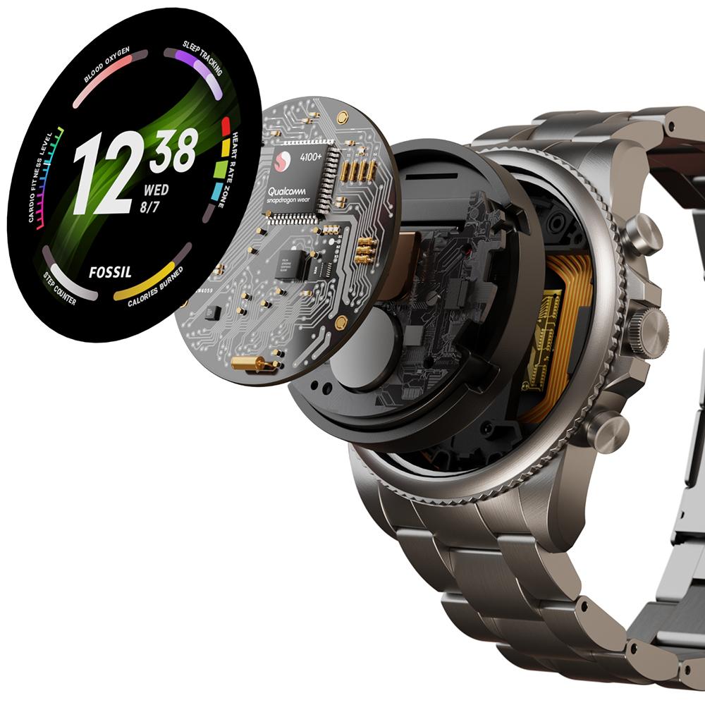 Fossil Smartwatches FTW4061V zegarek Fossil Q z krokomierz