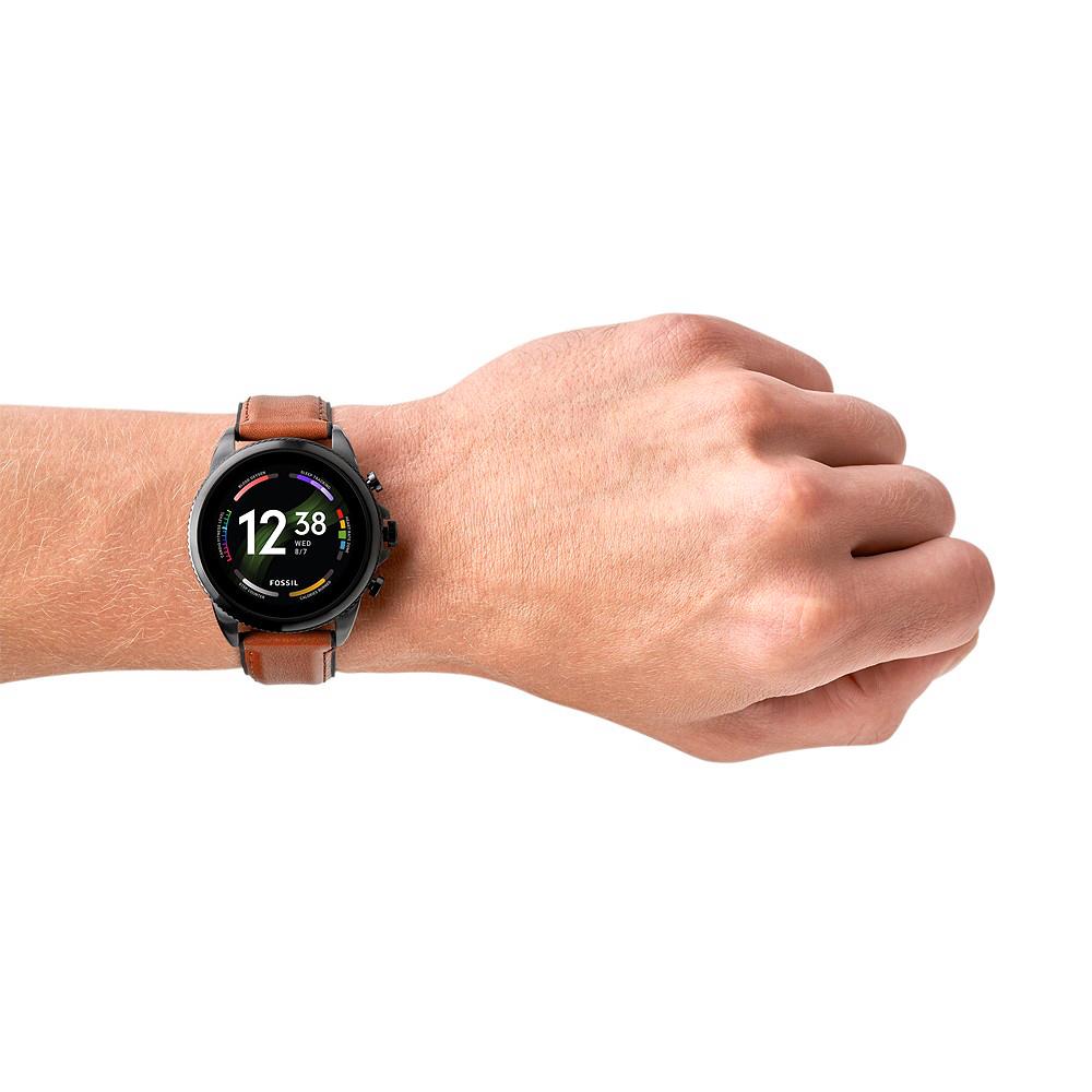 Fossil Smartwatches FTW4062V zegarek czarny sportowy Fossil Q pasek