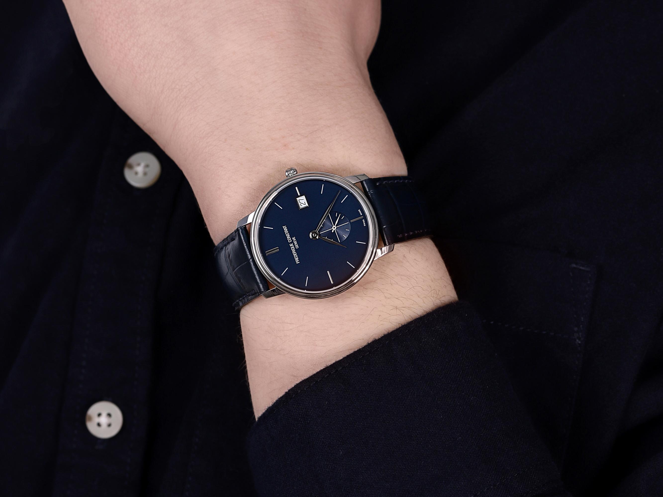 Frederique Constant FC-245N4S6 SLIMLINE GENTS SMALL SECONDS zegarek klasyczny Slimline