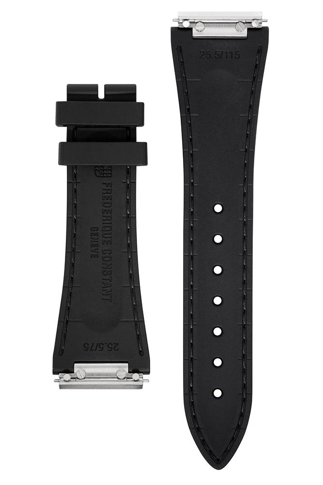 Frederique Constant FC-303S4NH6 zegarek srebrny klasyczny Highlife pasek