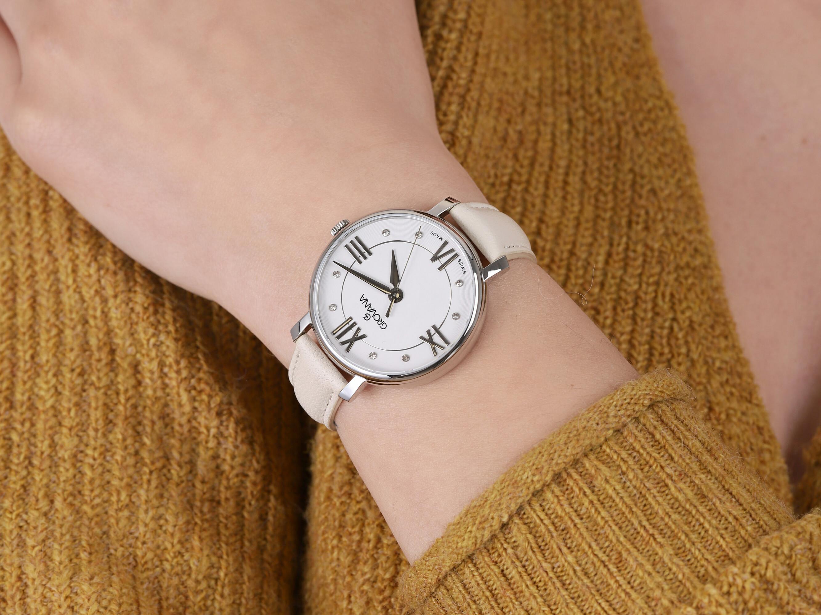 Grovana 4441.1533 zegarek damski Pasek