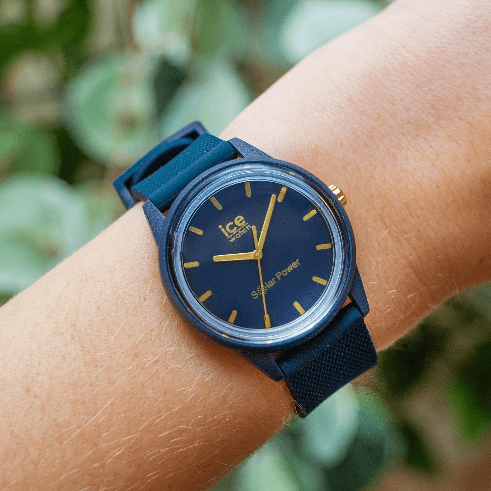 ICE Watch ICE.018743 zegarek biały klasyczny ICE-Solar Power pasek