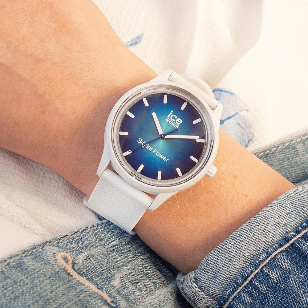 ICE Watch ICE.019029 zegarek niebieski klasyczny ICE-Solar Power pasek