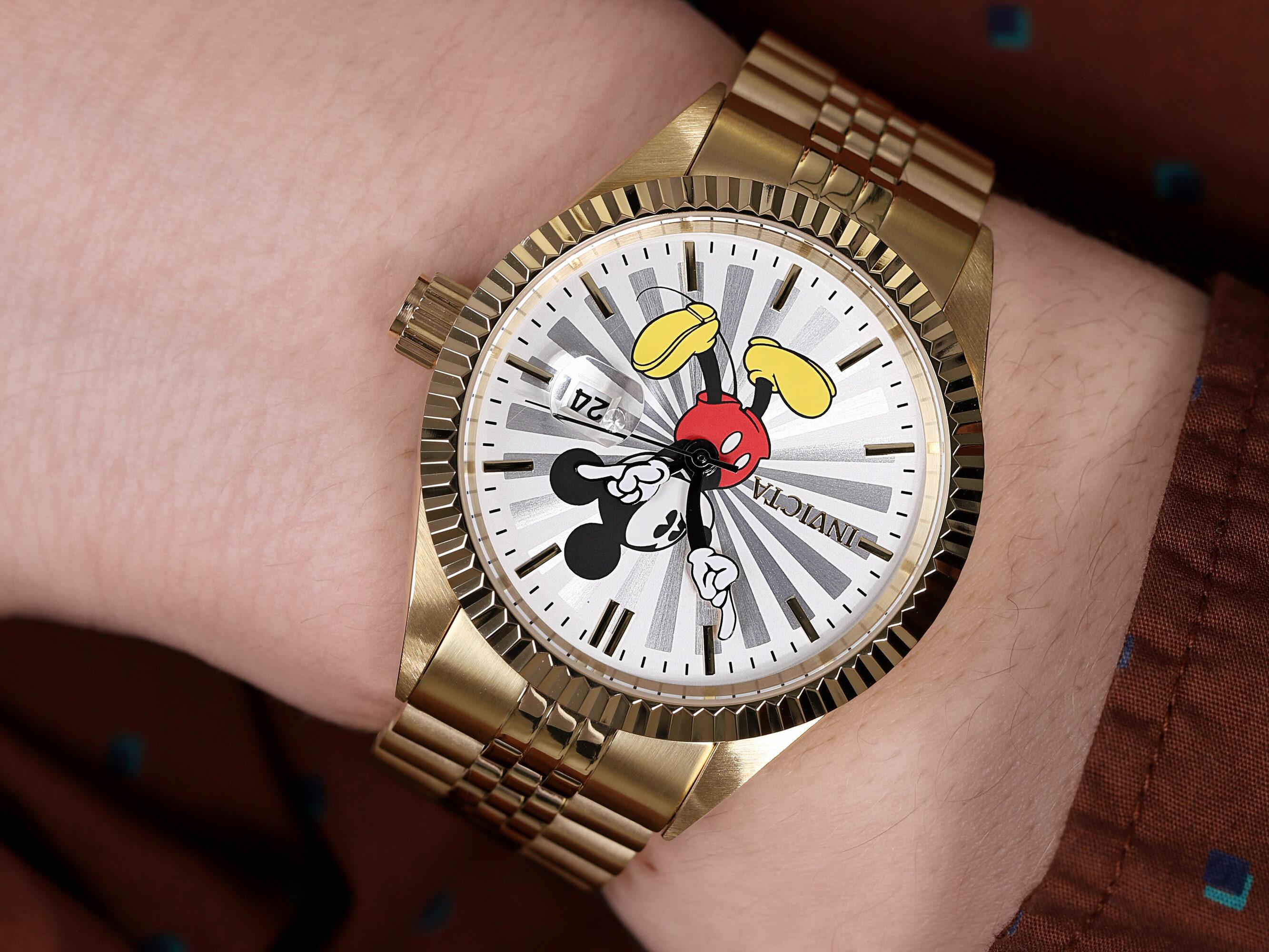 Invicta 22770 zegarek złoty klasyczny Disney bransoleta