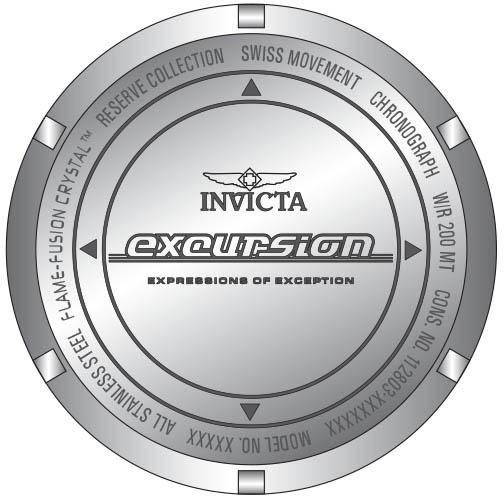 Invicta 34966 zegarek